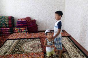 Сотрудники Минсоцразвития посетили мальчика, которого насильно забрали у бабушки в Кара-Кульдже