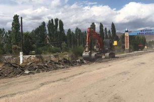 Минтрансдор: Ремонт южной части дороги на перевале Тоо-Ашуу закончен