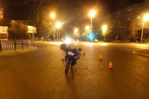 В Астрахани гражданина Кыргызстана сбил водитель мотоцикла