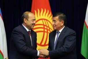 Сооронбай Жээнбеков: Кыргызстан и Узбекистан подготовили проект описания 1170 км совместной границы