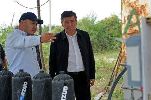 Сооронбай Жээнбеков: Модернизация заводов «Кошой» и «Каинды-Кант» полностью решит проблему сбыта сахарной свеклы