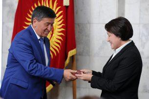 ЦИК зарегистрировал Сооронбая Жээнбекова в качестве кандидата в президенты КР