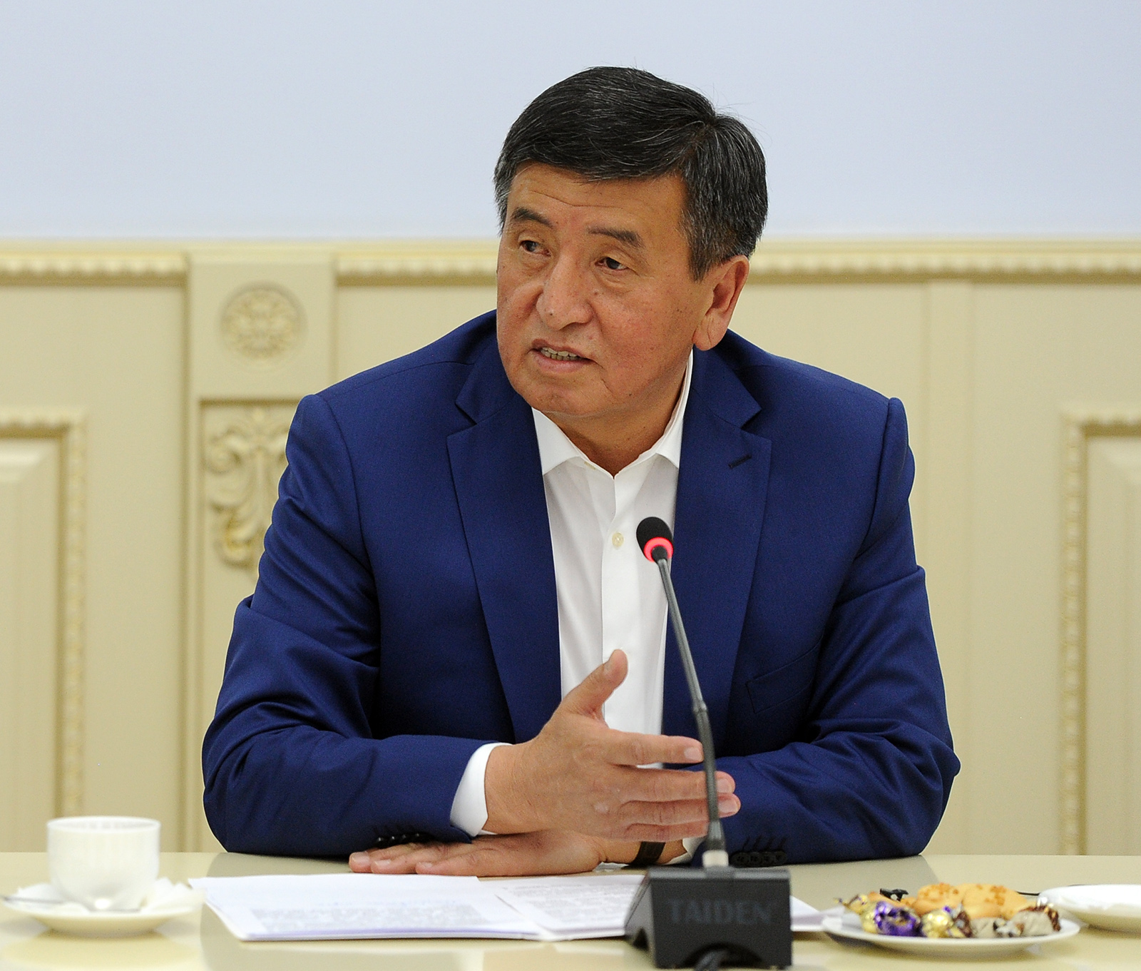 ВКыргызстане руководство воглаве сЖээнбековым ушло вотставку