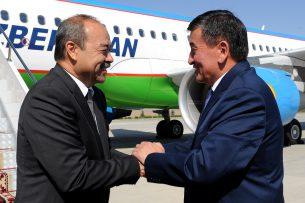 В Кыргызстан с рабочим визитом прибыл премьер-министр Узбекистана Абдулла Арипов