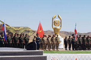 Кыргызстан принял участие в международных армейских играх в Казахстане (фото, видео)