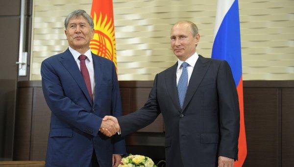 Путин встретится сАтамбаевым вСочи 14сентября