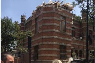 Атамбаев выразил соболезнования президенту Мексики в связи с жертвами в результате землетрясения