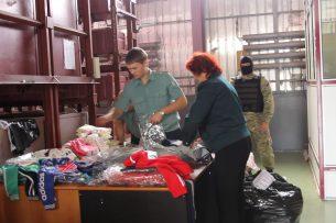 В Самарской области задержали контрабанду поддельных вещей из Кыргызстана