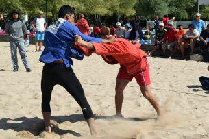 В Чолпон-Ате подвели итоги Международных спортивных игр по пляжному самбо
