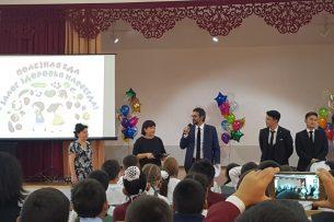 Неделя здорового питания началась в бишкекских школах