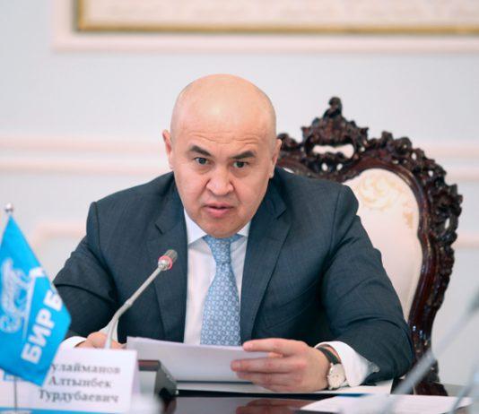 Алтынбек Сулайманов: Большинство депутатов настаивают на 5-процентном избирательном пороге