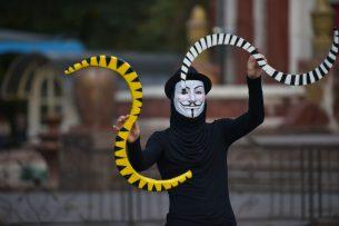 В Бишкеке стартовал фестиваль уличных театров