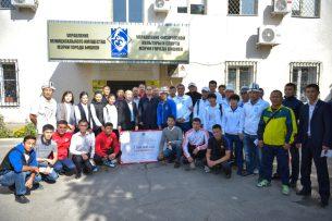 Сборную команду Бишкека поощрили за победу в спортивных играх «Манас оюндары-2017»