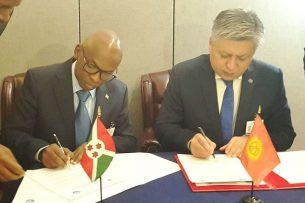 Кыргызстан и Бурунди установили дипломатические отношения