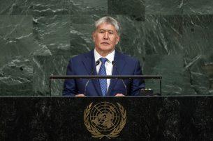 Алмазбек Атамбаев: Кыргызстан решительно осуждает насилие в Мьянме