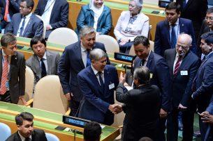 Алмазбек Атамбаев прибыл в Нью-Йорк для участия в работе 72-й Генеральной ассамблеи ООН