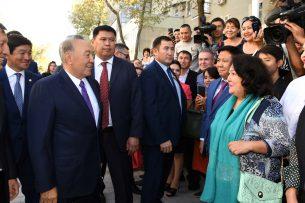 Экономика Алматы в пять раз превышает ВВП Кыргызстана – Нурсултан Назарбаев