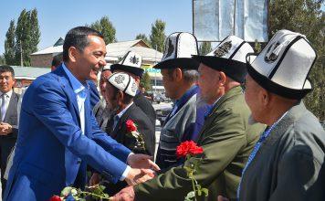 Исфана поддержала кандидата в президенты Омурбека Бабанова