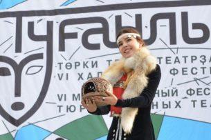 Актриса из Кыргызстана получила приз на фестивале в Уфе