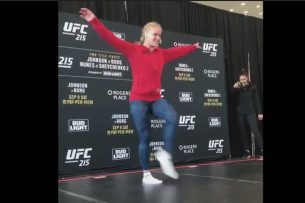 Шевченко станцевала лезгинку перед турниром UFC 215