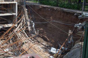 Обвалы на стройках: Топ-3 случаев ЧП на объектах Бишкека