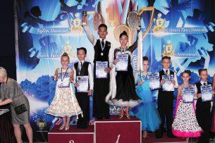 Кыргызские спортсмены приняли участие в международном турнире по спортивным бальным танцам «Динамиада -2017».