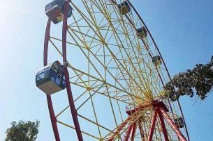 В столичном парке им. Панфилова запустят новое колесо обозрения