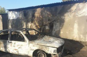 В селе Маевка за ночь совершено 10 поджогов