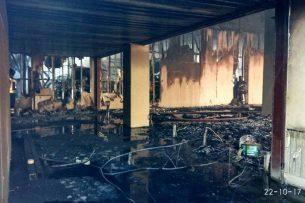 МЧС: Версия поджога кафе в микрорайоне «Асанбай» исключена