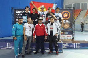 Сборная Кыргызстана привезла шесть медалей с Чемпионата мира по панкратиону