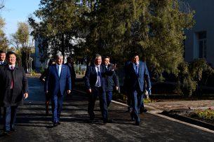 Атамбаев дал старт строительству нового комплекса Национального центра онкологии игематологии