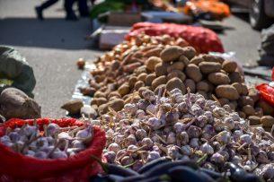 В Бишкеке проходят традиционные сельскохозяйственные ярмарки