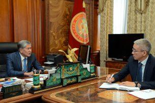 Атамбаев посоветовал Кыргызско-Российскому фонду развития активно финансировать строительство жилья