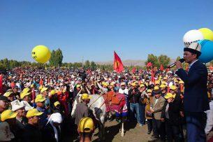 Более 10 тысяч жителей Кара-Бууринского района поддержали Омурбека Бабанова