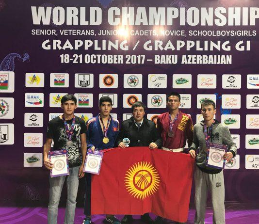 Кыргызстанец завоевал золотую медаль на чемпионате мира по грэпплингу