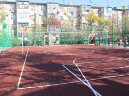 В Бишкеке появилась спортивная универсальная площадка