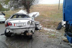 На трассе Ош-Бишкек в результате ДТП погиб человек