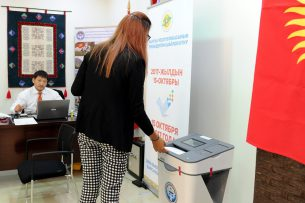 Выборы президента КР: Голосование завершилось