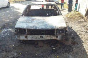 Поджог в Маевке: Пострадавшие подозревают соседа, состоящего на учете в психдиспансере
