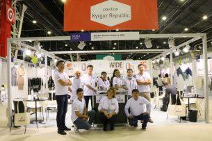 Кыргызстан принял участие в выставке швейной индустрии в Париже