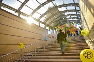 В Бишкеке после ремонта открыт подземный переход на пересечении Чуй-Абдрахманова