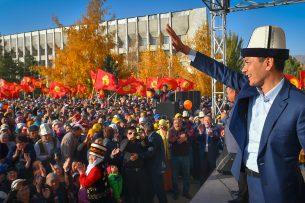 Жители Таласа: Омурбек Бабанов — наш президент!