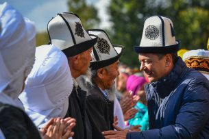 Кыргызстан — за Бабанова!