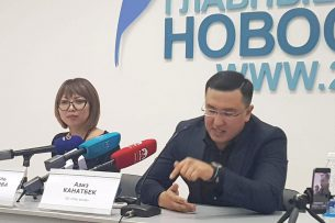 В Бишкеке презентовали камеры, которые не позволят одному человеку проголосовать на выборах дважды (видео)