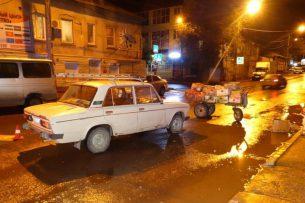 В Астрахани кыргызстанец попал в ДТП
