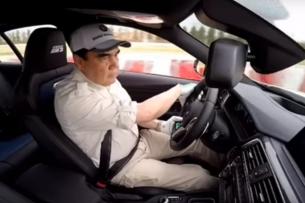 Король дрифта: президент Туркменистана устроил тест-драйв гоночного автомобиля