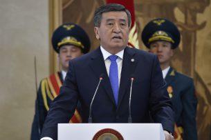 Сооронбай Жээнбеков вступил в должность президента Кыргызстана (фото)