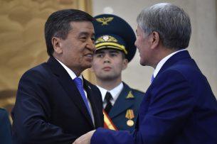Атамбаев – Жээнбекову: Народ Кыргызстана заслуживает быть счастливым