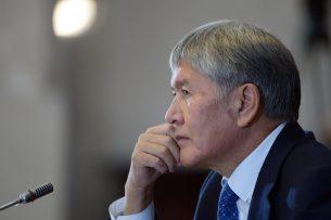 Состояние Алмазбека Атамбаева оценивается как средней тяжести