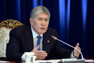 Ситуация с Казахстаном наладится – Алмазбек Атамбаев